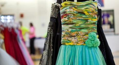 yellow dress dance costume donations