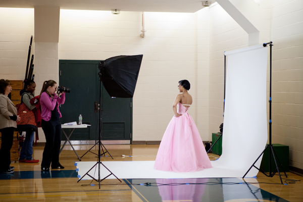 Once finding the perfect gown, Alicia Kathryn Photo Design was on site to take their picture