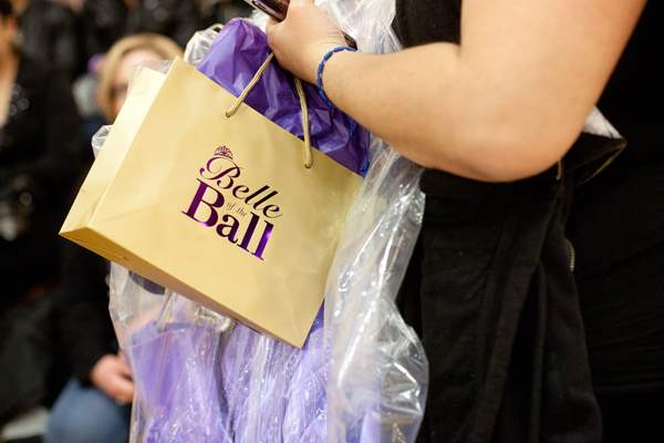 Students left with a prom gown, shoes, handbags, jewelry, and a goodie bag.